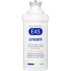 E45 Moisturising Cream Pump 500g