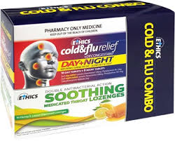ETHICS Cold & Flu Day & Night + Lozenge Combo