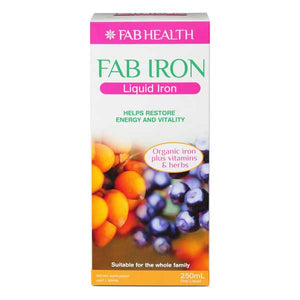 FAB IRON Liquid Iron 250ml