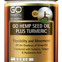 GO Hemp Seed Oil Plus Turmeric 100s