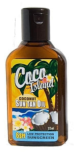 COCO ISLAND Suntan Oil SPF6 125ml