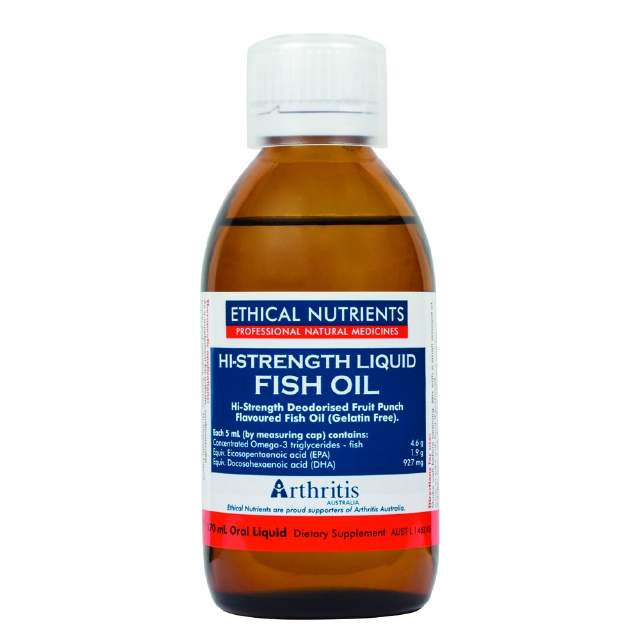 EN Hi-Str. Liq Fish Oil Fruit 280ml