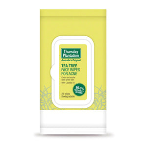 THURS.PL. T/T Face Wipes Acne 25pk
