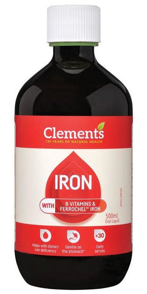 CLEMENTS Iron 500ml
