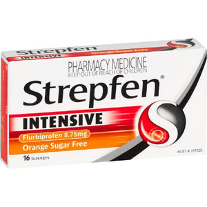 STREPFEN Orange Sugar Free Lozenges 16