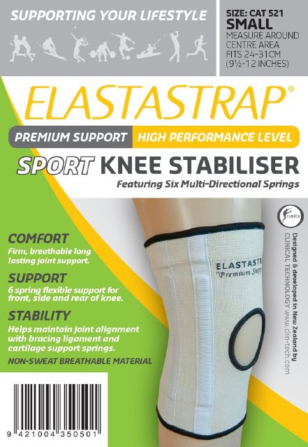 ELASTASTRAP Sports Guard Knee Stabilser Large