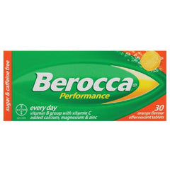 BEROCCA Performance Orange 30s
