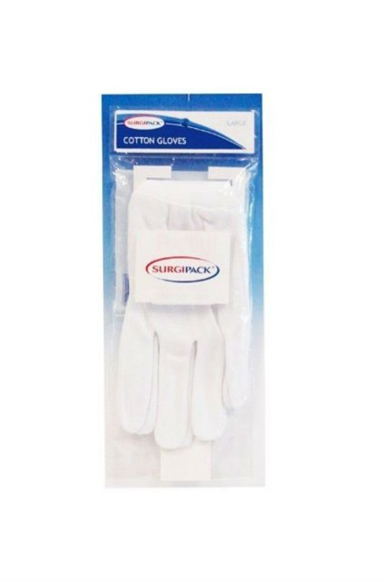 Surgipack Gloves Cotton Regular Hands Large