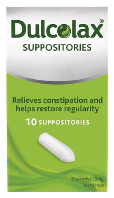 Dulcolax Suppositories 10mg Adult 6