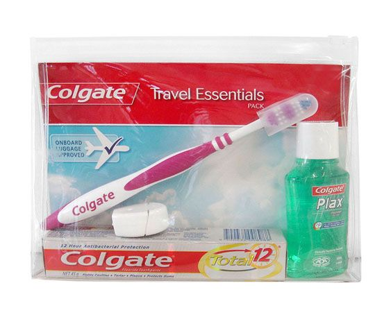 COLGATE GREAT REGULAR FLAVOUR Travel Pack