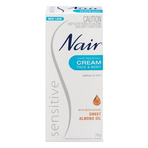 NAIR Sensitive Hair Remov Cream 150ml