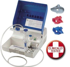 Nebulflaem F2000 Portable Nebuliser / Nebulizer - Made in Italy