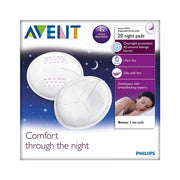 Avent Disposable Breast Pads Night 20pk