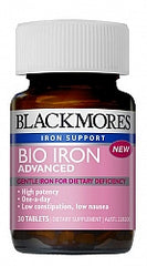Blackmores Bio Iron Advanced 30s
