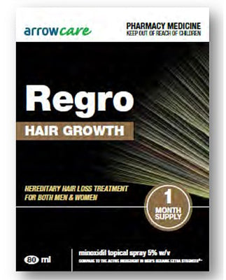 Arrowcare Regro Triple Pack 3x80ml