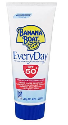 Banana Boat Everyday SPF50+ 200g Tube