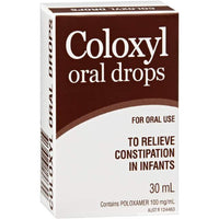 Coloxyl Drops Poloxamer 10% 30ml
