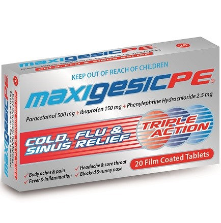 Maxigesic PE Pain Relief 20s