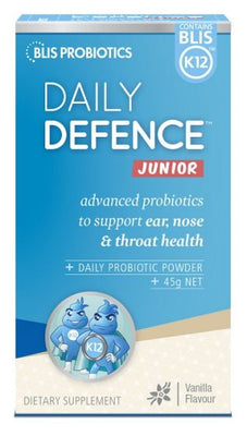 BLIS DailyDefence Junior Vanilla 45g