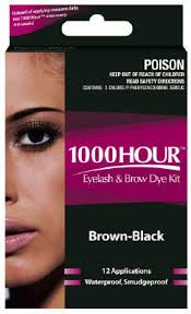 1000 Hour Eyelash & Brow Kit - Brown & Black