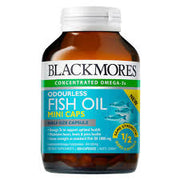 BL Odourless Fish Oil Mini Cap 200s