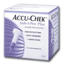 Accu Chek Safe T Pro Plus Sterile Lancing Devices 200