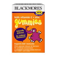 Blackmores Kids Vit. C +Zinc Gummies 36