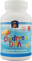 Nordic Child DHA Strawberry Chewables 90s
