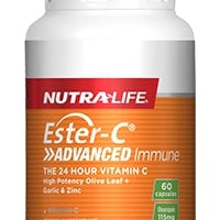 Nutralife Ester C Advanced Immune 30c