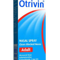 Otrivin F5 Adult MD Nasal Spray 10ml