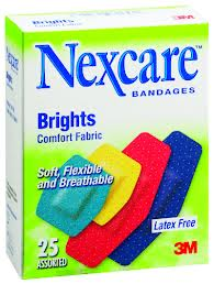 Nexcare Brights Assorted 25