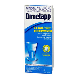 DIMETAPP Colour Free Elixir 200ml