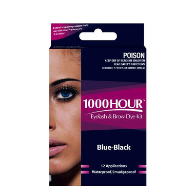 1000 Hour Eyelash & Brow Kit - Blue & Black