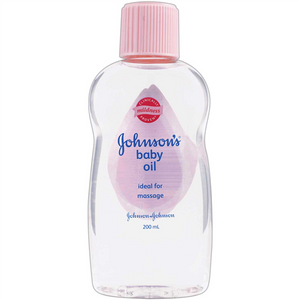 Johnsons and Johnsons Baby Oil 200ml