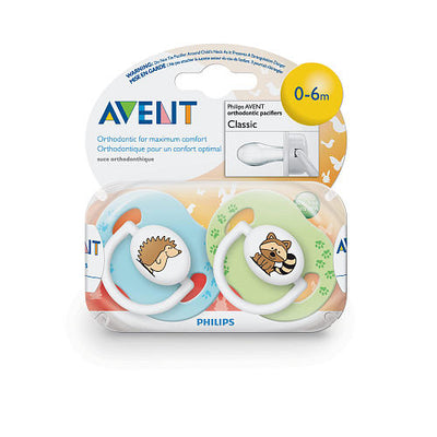 AVENT 0-6m Fashion Soother 2pk