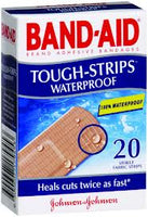 BANDAID Tough Strips WaterProof 20