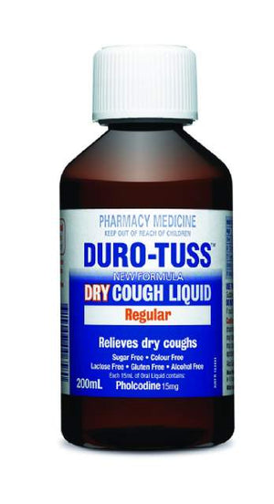DURO-TUSS Dry Regular 200ml