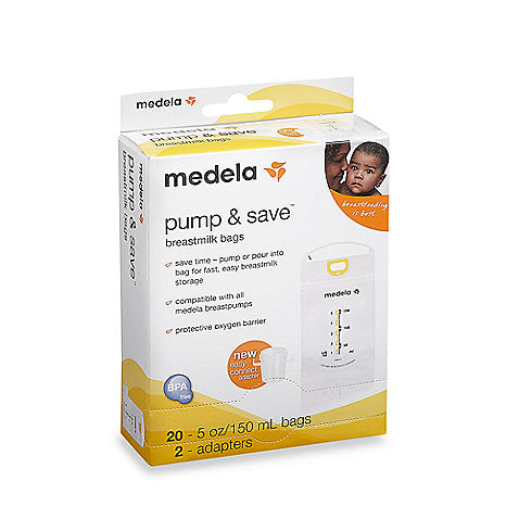 Medela Breastmilk Bags (Box of 20)