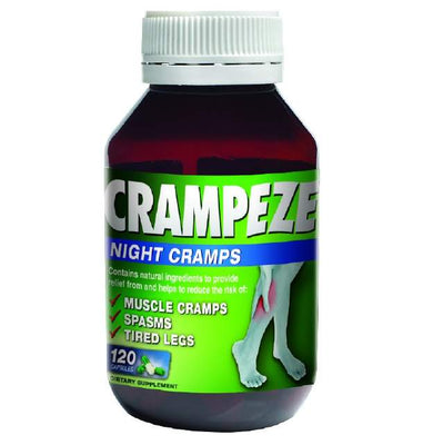 CRAMPEZE NIGHT CRAMPS 120s