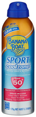 BANANA BOAT SPORT C/ ZONE SPRAY 175G