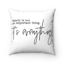 Load image into Gallery viewer, Quote Pillow, Family Pillows, Family Farmhouse Pillow