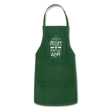 Load image into Gallery viewer, Adjustable Apron - forest green