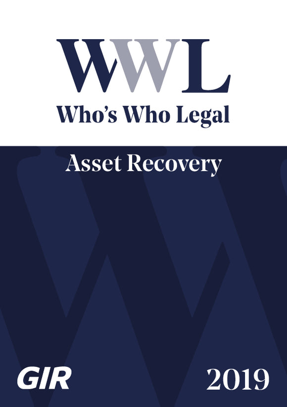 Asset Recovery 2019