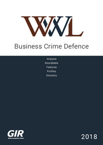 Business Crime Defence 2018