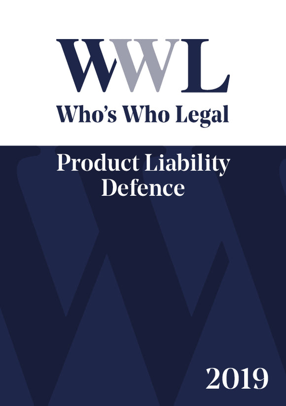 Product Liability Defence 2019