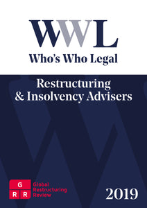 Restructuring & Insolvency Advisers 2019