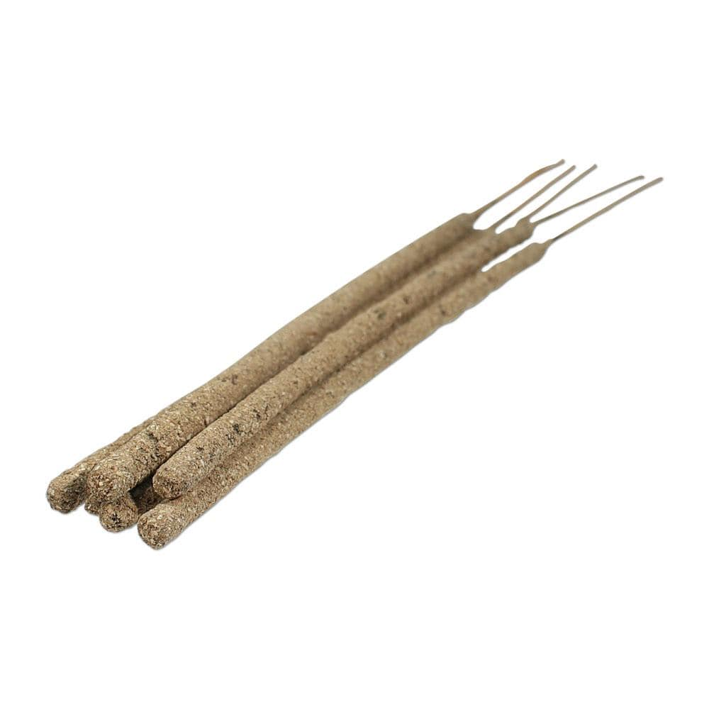 artisan fragrant palo santo Bursera graveolens white copal incense sticks fine herb ground resin dried stick long-burning smudge bundle pack 11 inch made in the USA shamans market handmade