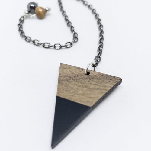 BEAUTIFUL HANDCRAFTED WOODEN PENDULUM
