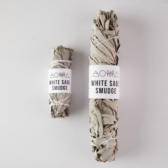 LARGE WHITE SAGE SMUDGE