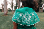 Filipiniana wrap-around top